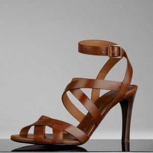 Strappy leather sandals